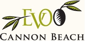 EVOO Cannon Beach logo