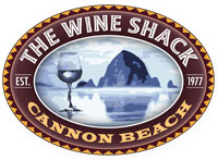 The Wine Shack Cannon Beach logo